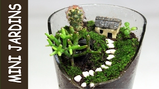 fairy garden 5 diy minigarten im topf viyoutube. Black Bedroom Furniture Sets. Home Design Ideas