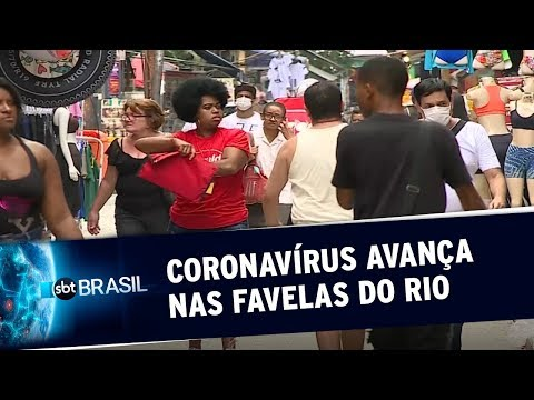 Avanço Do Novo Coronavírus Nas Favelas Do Rio Preocupa Autoridades | SBT Brasil (02/04/20)