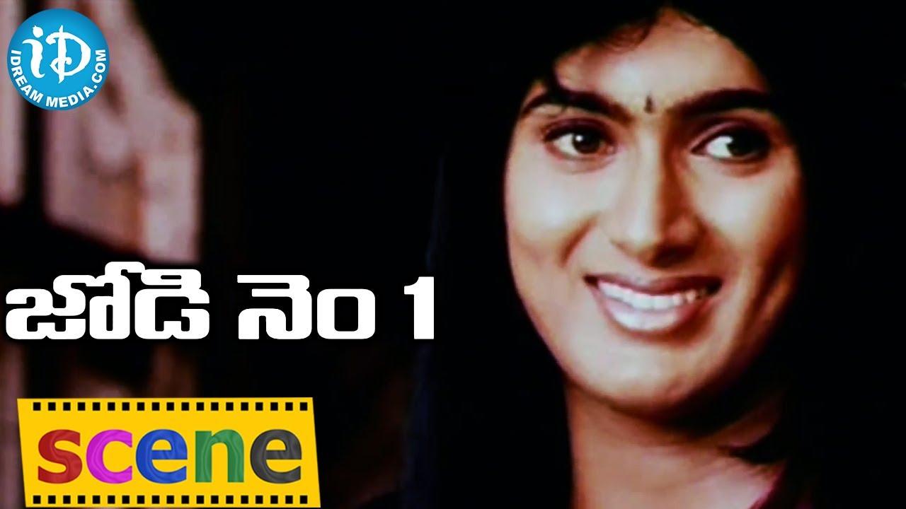 Jodi No 1 Movie - Uday Kiran Wear Saree To Venya || rija ...