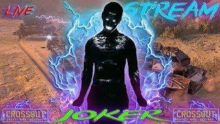СТРИМ Crossout Joker заряжает позитивом по полной Хейтеры лям вольт Вам в анус
