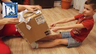 Посылка с игрушками ЛЕГО Box with toys LEGO unboxing