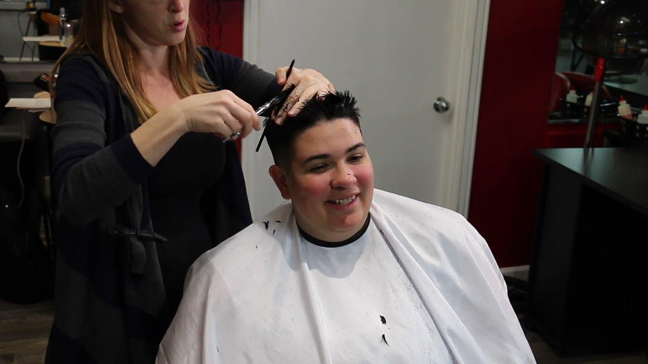 Alexa PX (pt 1): Short Shaved Pixie (YT Original)