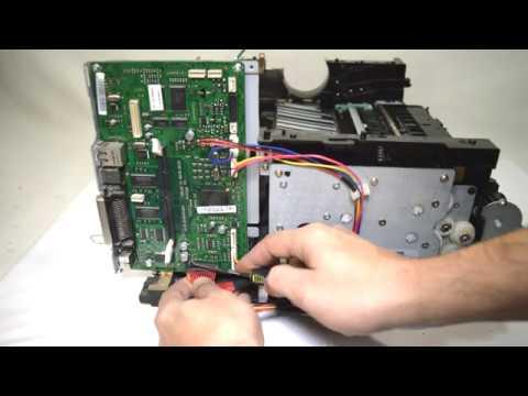 Ремонт принтера Samsung ML-3471ND и полная его разборка.