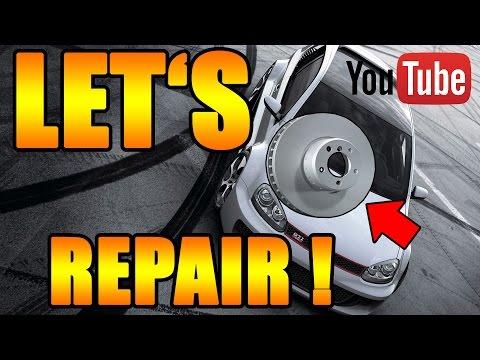 Let's Repair VW - Bremse vorne selber wechseln [VW Caddy 3] DIY