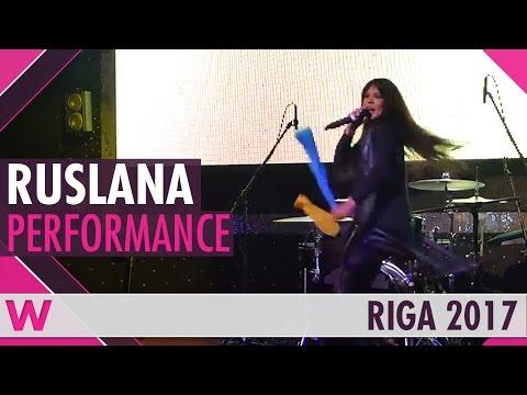"Ruslana ""The Same Star"" LIVE @ Eurovision Pre-Party Riga 2017"