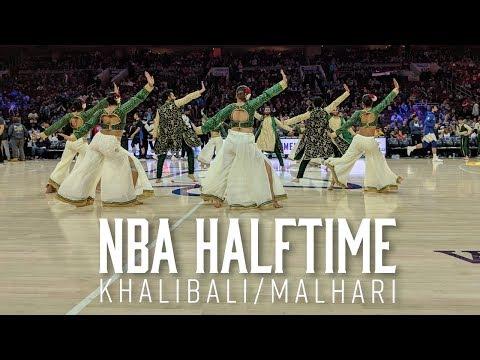 Khalibali Malhari at NBA Halftime Show | Exodus Artistry | Ranveer Singh | Padmaavat