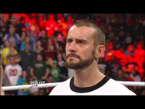 The Rock interrupts CM Punk and vows to become WWE Champion: Raw, Jan. 7, 2013