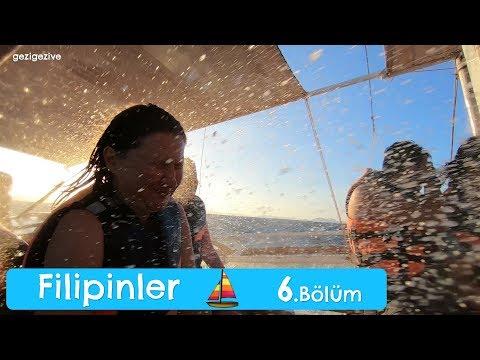 Açık Denizde Tekneyle Fırtınaya Yakalandık! | Coron, Filipinler