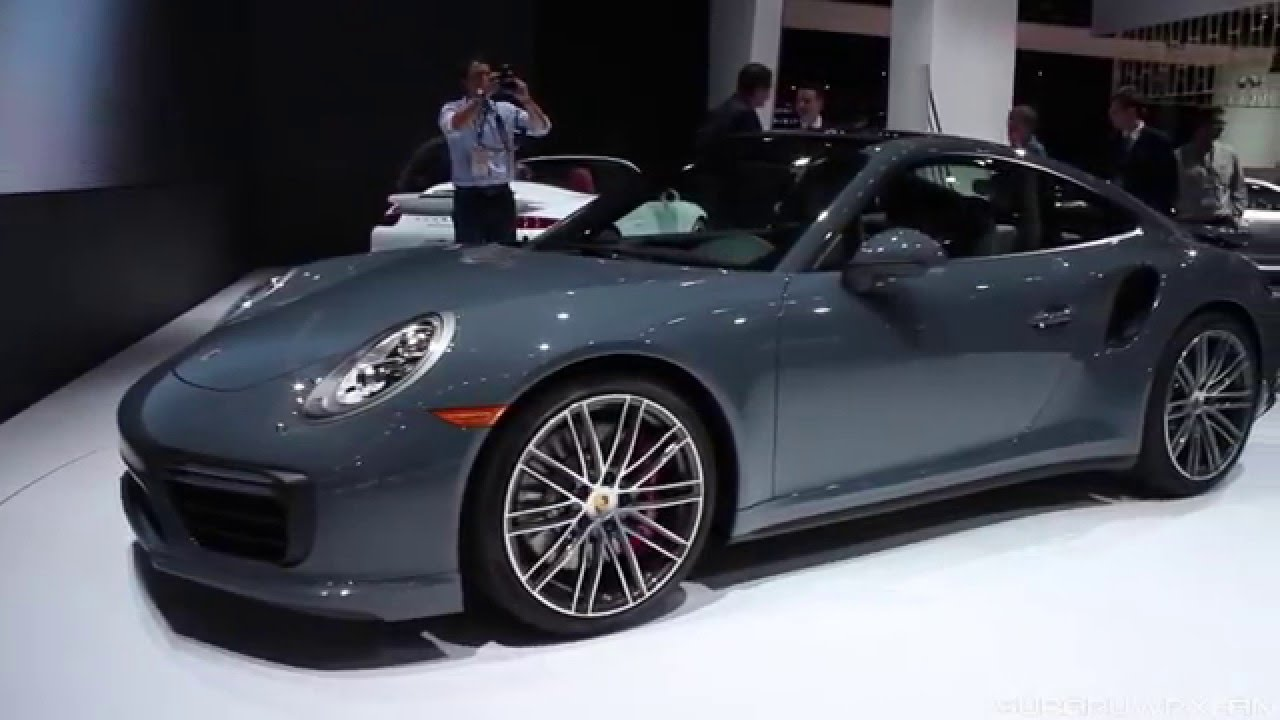 Checking Out The 2017 Porsche 911 Turbo And S Cabriolet