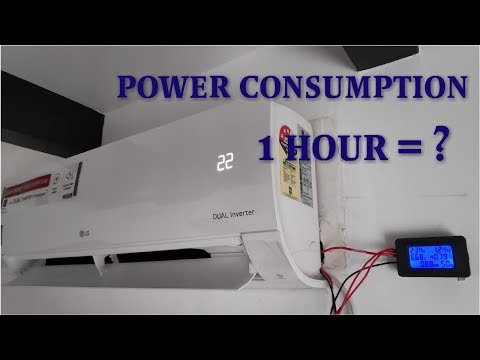 LG 1 Ton Dual inverter AC | Power Consumption test