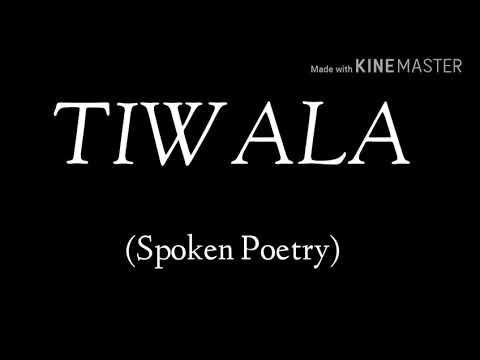 Tiwala (Spoken Poetry)