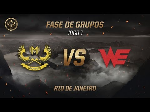 Marines x World Elite (Fase de Grupos - Jogo 3 - Dia 3) - MSI 2017