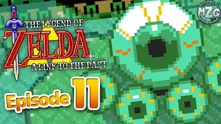 The Legend of Zelda: A Link to the Past Gameplay Part 11 - Cane of Somaria! Misery Mire!