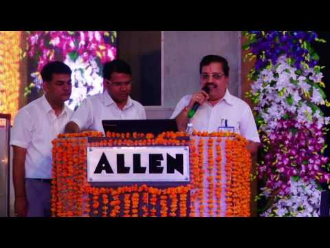 ALLEN NEET UG 2016 Victory Celebration: Felicitation Ceremony (Top 01 to 10)