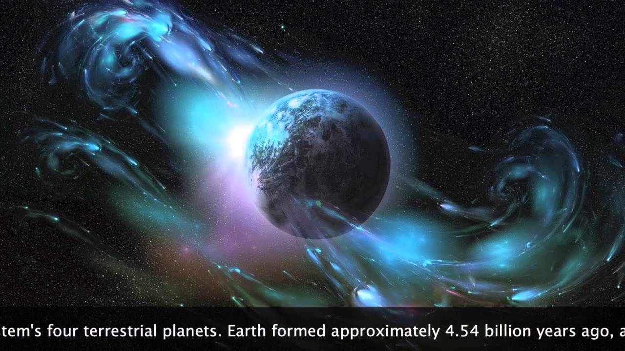 our beautiful planet earth - important facts: (age, weight