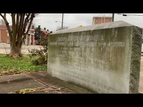 The First President of Liberia Joseph Jenkins Roberts' Petersburg, Virginia Story