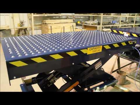 Uni Craft Corp Scissor Lift With Pop Up Ball Transfer