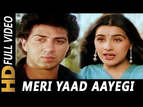 Meri Yaad Aayegi Aati Rahegi   Suresh Wadkar, Lata Mangeshkar   Sunny 1984 Songs   Sunny Deol