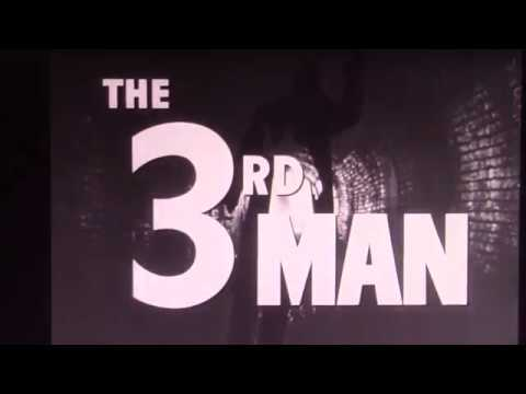 The Third Man Trailer & Theme Cover by James Henderson 1969