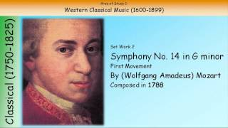 2. Symphony No. 40 In G Minor (First Movement) - Mozart (GCSE Music Edexcel)
