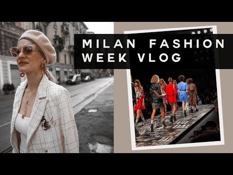 MILAN VLOG | COME WITH ME TO MILAN FASHION WEEK | MON MODE