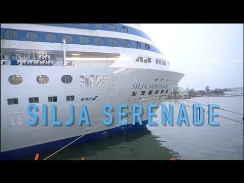 Silja Serenade a cruise from Stockholm to Helsinki