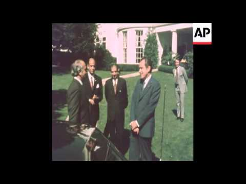 SYND 20-9-73 STATE DINNER IN HONOUR OF PRESIDENT BHUTTO