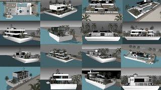 Bateau maison de luxe France | Amsterdam Quebec Ontario Bahamas Vancouver | Antibes yacht show 2018