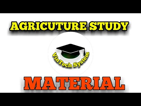 Preparation of agriculture courses || Vintech system
