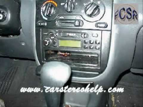 Daewoo Lanos Car Audio - Stereo Removal - YouTube