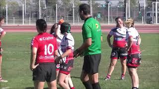 Rugby Fédérale 1 Féminines RCT Toulon vs Sud Toulousain Match Championnat France Saison 2018/2019