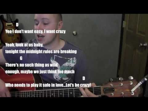 I Want Crazy- Guitar Lesson / Tutorial (Standard Chord Version) Hunter Hayes