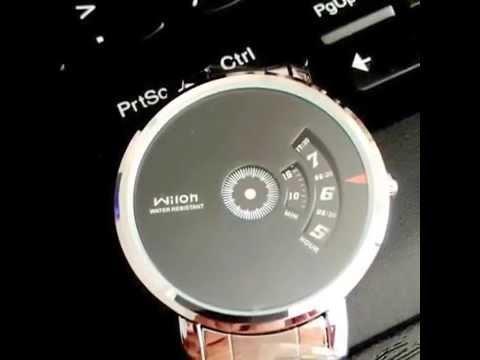 WILON WL938 Men's Women's Korean Style Fashion Creative Dial Unisex Quartz Wrist Watch