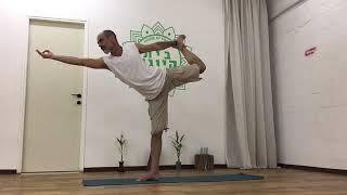 יוגה עם תיכון מיתר 6 - תרגול רצוף של 10 דקות