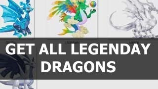 How To Get ALL LEGENDARY DRAGONS In Dragon City EASY GUIDE