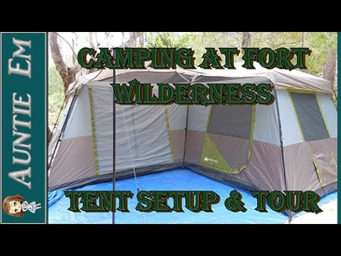 C&ing at Fort Wilderness - Tent Setup and Tour  sc 1 st  YouTube & Camping at Fort Wilderness - Tent Setup and Tour - YouTube