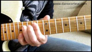 Country Guitar Lesson: String Bending (part 2) - How to bend one string in a double stop.