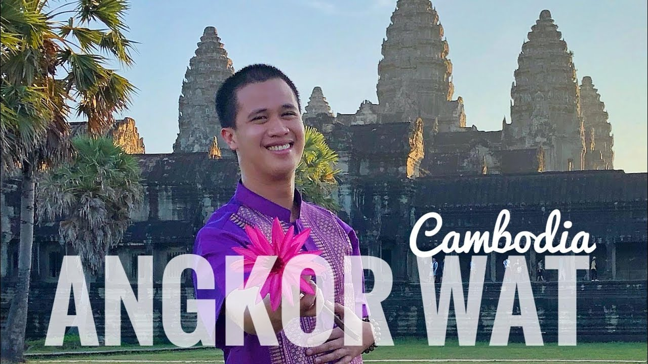 ANGKOR WAT Sunrise and Temple Tour - Solo Travel Vlog - Siem Reap, Cambodia (November 2019)