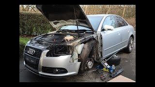 In this video, i go about repairing the damage to side of my 2006 audi a4. check out new channel here: https://www./lukedavidrobinson music...