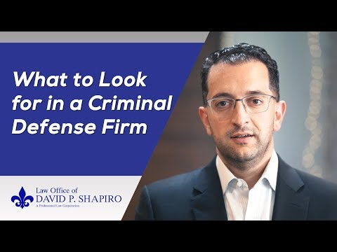 San Diego Criminal Lawyer - What To Look For in a Criminal Defense Attorney  in San Diego