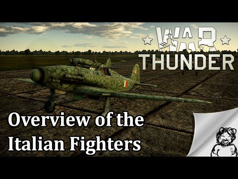 War Thunder - Overview of the Italian Fighters
