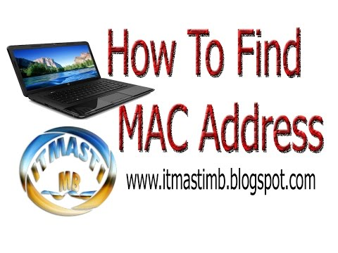 How To Get MAC Address Write ipconfig mac Laptop & Desktop