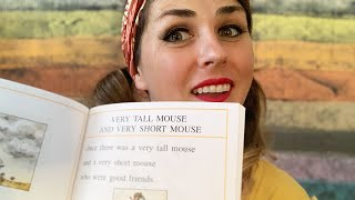 Mouse Tales 3 - Very Tall Mouse and Very Short Mouse by Arnold Lobel - read by Lolly Hopwood