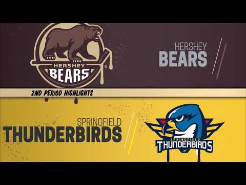Hershey Bears 2 at Springfield Thunderbirds 6 (January 11, 2019)