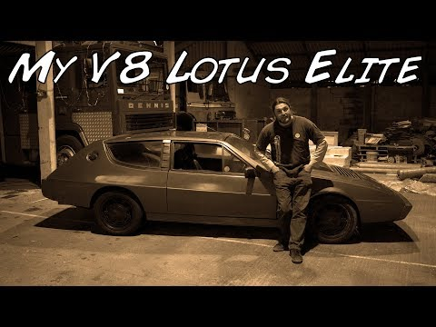 This Is My Lotus Elite V8 Project