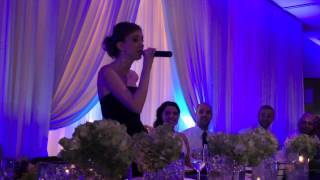 Funny Surprise Wedding Toast Song Rap Video