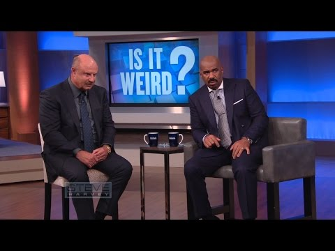 Is It Weird?: You cant keep eating that! || STEVE HARVEY