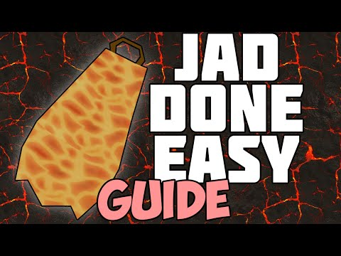 Jad Done Easy - Jad Guide/Walkthrough: Oldschool Runescape 2007