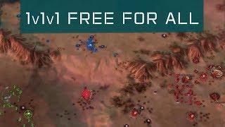 1v1v1 FFA Cast - Ashes of the Singularity: Escalation