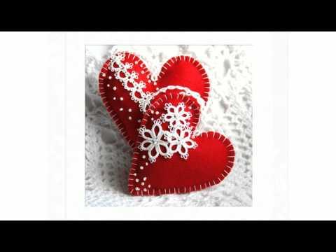 Композиции Панно из бумажных сердечек